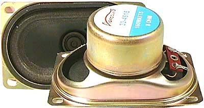 Repro  90x57x43mm 8ohm/3W do TV,st�n�n� magnet