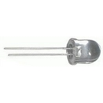 LED 10mm b�l� tepl� �ir� 12Cd/25mA 20�3,5V
