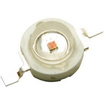 LED 1W �erven� 625nm,45lm/350mA,120�,TY-HR1-1
