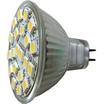 ��rovka LED MR16-21xSMD5050,b�l� tepl�,12V
