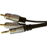 2xCinch-Jack 3,5mm stereo HiFi   3m