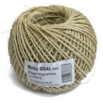 Mot�z Sisal Natural, 060 m/140 g, BallPack