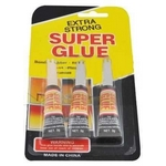 Sekundov� lepidlo Super Glue 3x3g